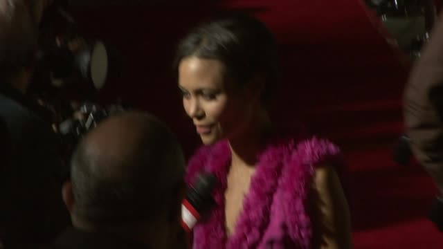 thandie newton at the 'run fat boy run' premiere on march 24 2008 - thandie newton stock videos & royalty-free footage