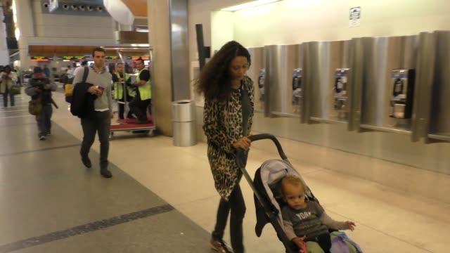 Thandie Newton departing at LAX Airport in Los Angeles in Celebrity Sightings in Los Angeles
