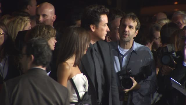 thandie newton john cusack at the '2012' premiere at los angeles ca - thandie newton stock videos & royalty-free footage