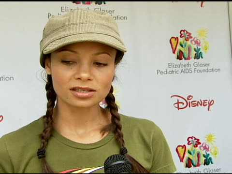 Thandie Newton on being at the event on how and why she got involved with and supports the Foundation what makes the 'Time For Heroes' carnival...