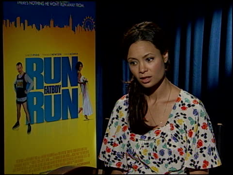 Thandie Newton on her character in the film at the 'Run Fatboy Run' Press Junket at the Four Seasons Hotel in Los Angeles California on March 24 2008