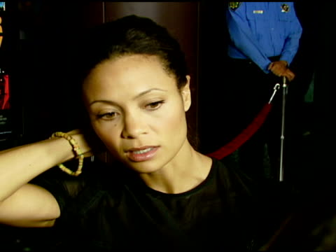 Thandie Newton on the film and how Darfur's crisis affects us here at the 'Darfur Now' Screening at Directors Guild of America in Hollywood...