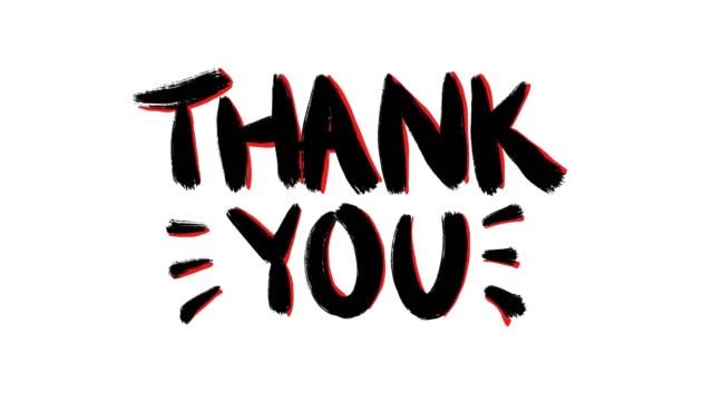 vídeos y material grabado en eventos de stock de gracias v1 - gratitud