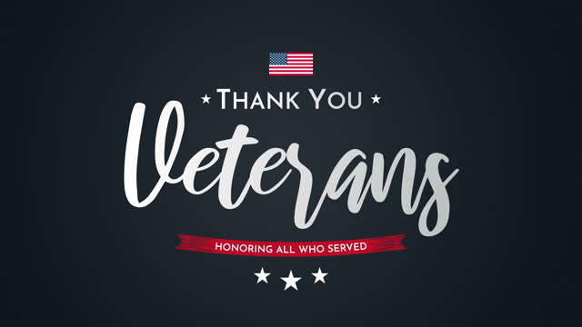thank you veterans animation. veterans day. - veterans day stock videos & royalty-free footage
