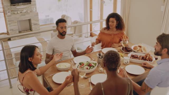 vídeos de stock e filmes b-roll de thankful for all that we're blessed with - benção