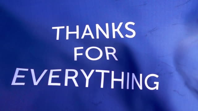 thanks for everything flag high detail - thank you stock videos & royalty-free footage