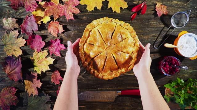 Thanksgiving-Apfelkuchen