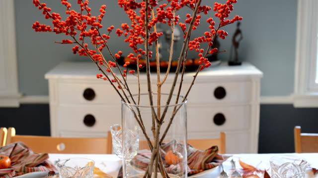 Thanksgiving Day Tabelle Einstellung