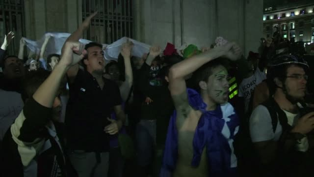 that an event like the world cup would bring football crazy brazilians into the street was to be expected but that it would unite tens of thousands... - brazilian ethnicity stock videos & royalty-free footage