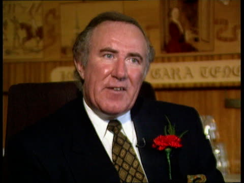 thatcher memoirs scandal london cms andrew neil intvwd sot you'll have to read the serialisation - andrew neil stock videos & royalty-free footage