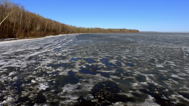 Thawing and Melting Lakeshore