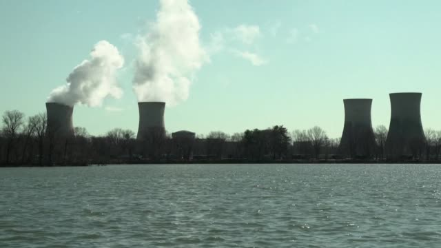 the 1979 accident at the three mile island power plant the worst in us history claimed no lives but provoked an outcry over the country's nuclear... - nuclear power station stock videos & royalty-free footage