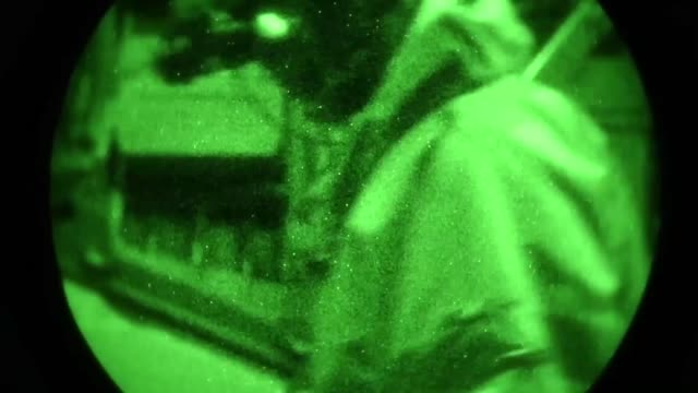 stockvideo's en b-roll-footage met the 1st special operations wing participated in a major combat operations exercise to enhance their warfighting skills at hurlburt field florida may... - gasmasker