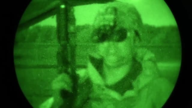 the 1st special operations wing participated in a major combat operations exercise to enhance their warfighting skills at hurlburt field florida may... - night vision stock videos and b-roll footage