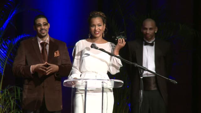 the 2012 diamond awards hosted by the not alone foundation on 3/17/2012 in atlanta ga united states - lisaraye mccoy stock videos & royalty-free footage