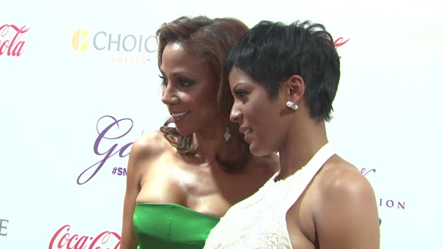 the 2015 steve & marjorie harvey foundation gala at hilton chicago on may 16, 2015 in chicago, illinois. - tamron hall stock videos & royalty-free footage
