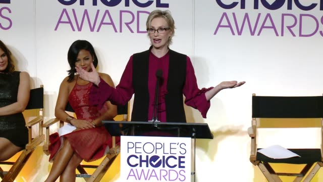 CHYRON The 2016 People's Choice Awards Nominations Announcement at The Paley Center for Media on November 03 2015 in Beverly Hills California