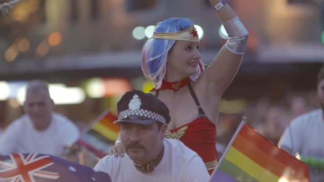 The 2017 Sydney Gay Lesbian Mardi Gras Parade during the 2017 Sydney Gay Lesbian Mardi Gras Parade on March 04 2017 in Sydney Australia The Sydney...