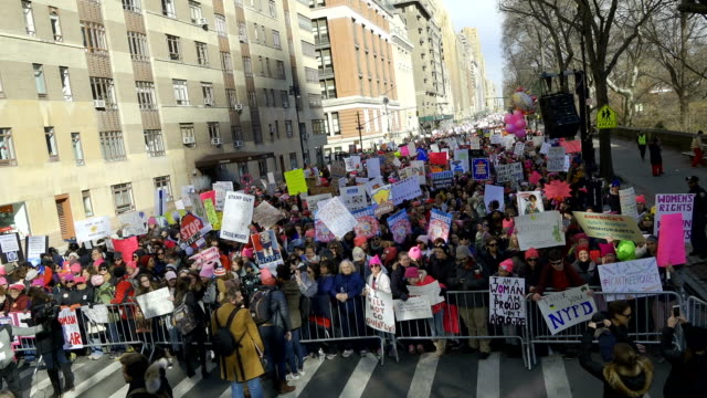 The 2018 New York City Women's march With the upcoming United States midterm elections the Women's march turned to an AntiDonald Trump protest...