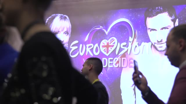 the 2020 eurovision song contest in rotterdam has been cancelled over coronavirus fears, organisers have said. the 65th edition of the event had been... - eurovision song contest stock videos & royalty-free footage