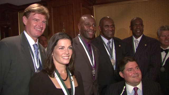 the 26th annual sports legends dinner at the waldorf astoria in nyc benefitting the buoniconti fund to cure paralysis, new york, ny, united states,... - wayne newton stock videos & royalty-free footage