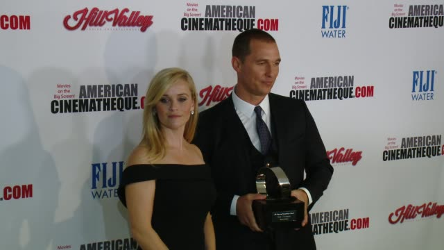 clean the 29th annual american cinematheque award presented to reese witherspoon at the hyatt regency century plaza on october 30 2015 in los angeles... - american cinematheque stock videos & royalty-free footage