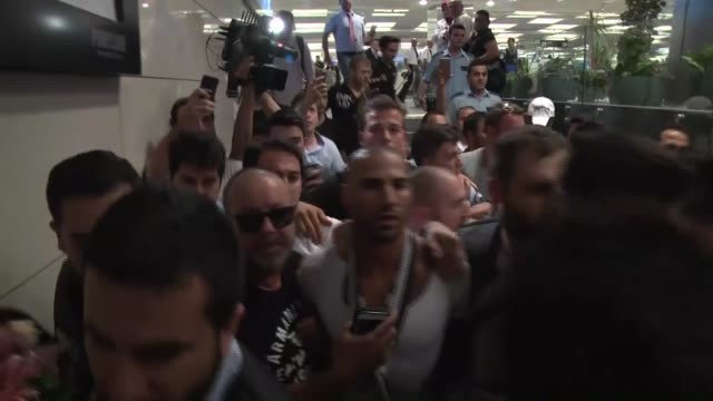 the 31year old portuguese winger ricardo quaresma who played at besiktas previously between 2010 2012 and currently plays for fc porto arrives in... - besiktas stock videos and b-roll footage