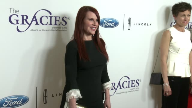 chyron the 43rd annual gracie awards at the beverly wilshire four seasons hotel on may 22 2018 in beverly hills california - lisa joyner stock videos and b-roll footage