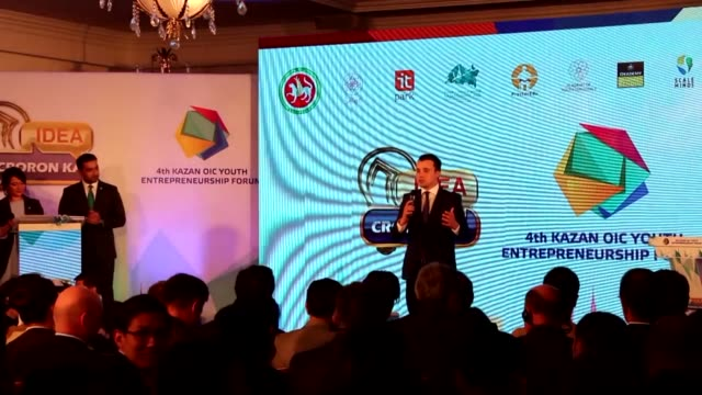 The 4th Kazan Organization of Islamic Cooperation's Youth Entrepreneurship Forum is held in Kazan Tatarstan on May 10 2018 The 4th Kazan OIC Youth...