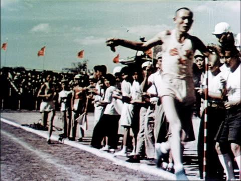 The 5000 meter men's race / winner is a former shepard from Inner Mongolia