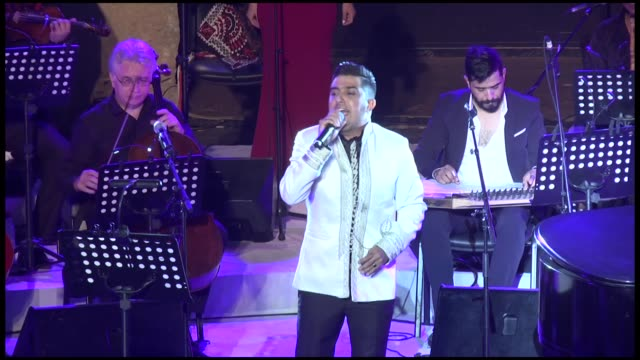 the 54th edition of the international festival of carthage ends on august 17 2018 in the capital tunis tunisia - carthage tunisia stock videos & royalty-free footage