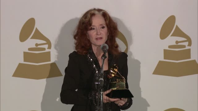CHYRON The 55th Annual GRAMMY Awards Press Room Los Angeles CA United States