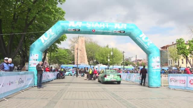 the 55th edition of the presidential cycling tour of turkey the world's only cycling tour to connect the continents kicked off in istanbul on tuesday... - 16 17 years stock videos & royalty-free footage