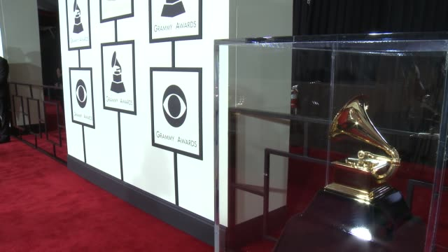 atmosphere the 57th annual grammy awards red carpet at staples center on february 08 2015 in los angeles california - grammys stock videos & royalty-free footage