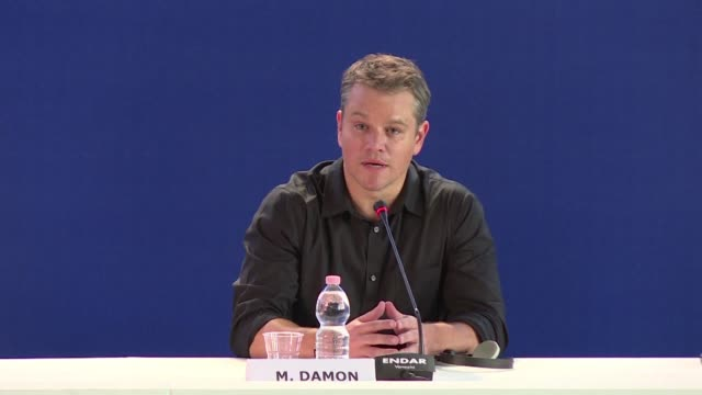 the 74th venice film festival kicks off with downsizing a sci fi drama starring a miniaturised matt damon opening to enthusiastic early reviews - matt damon stock videos and b-roll footage