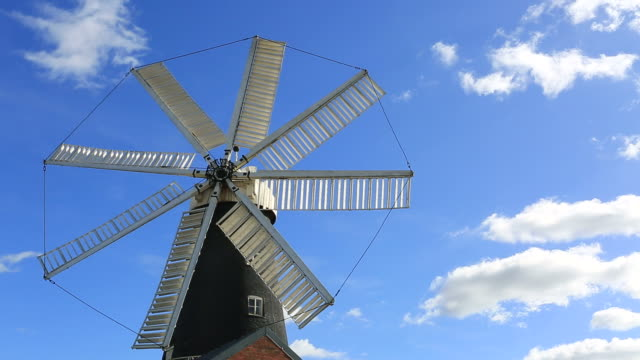 The 8 Sailed Heckington Windmill, Heckington village,