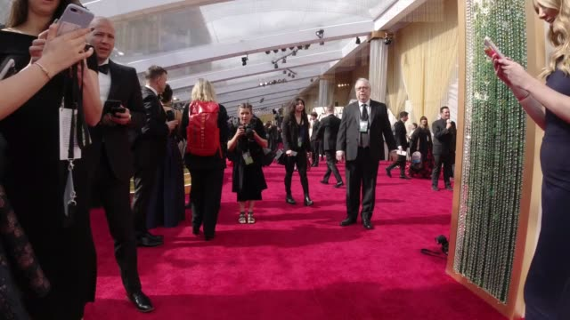vídeos de stock e filmes b-roll de hyperlapse the 92nd annual academy awards at dolby theatre on february 09 2020 in hollywood california - cerimónia dos óscares