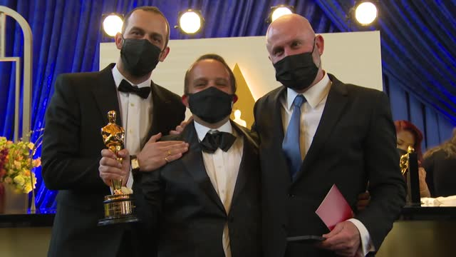 the 93rd annual academy awards at union station in los angeles on sunday april 25, 2021. - academy of motion picture arts and sciences stock videos & royalty-free footage