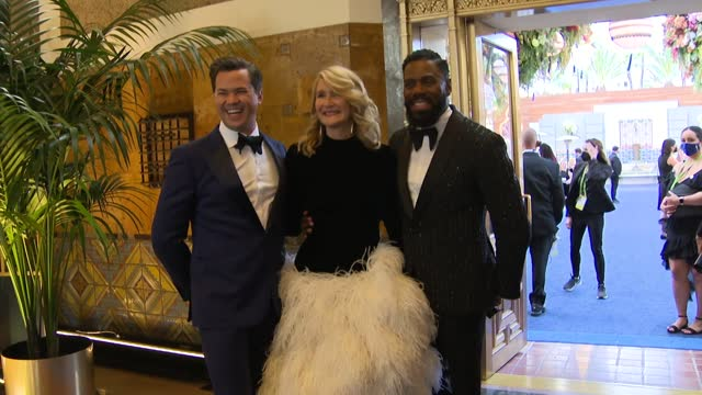 stockvideo's en b-roll-footage met the 93rd annual academy awards at union station in los angeles on sunday april 25, 2021. - academy awards
