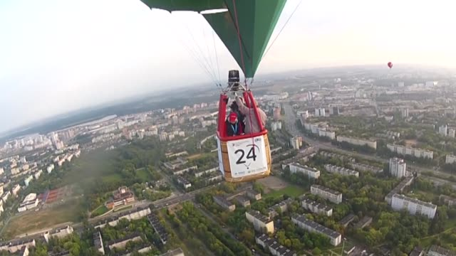 The 950th Anniversary Balloon Cup was held in Minsk on Saturday with some 35 crews from Belarus Poland Russia Latvia Lithuania Belgium and Slovakia...