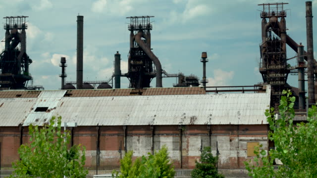 the abandoned bethlehem steel plant - abandoned stock videos and b-roll footage