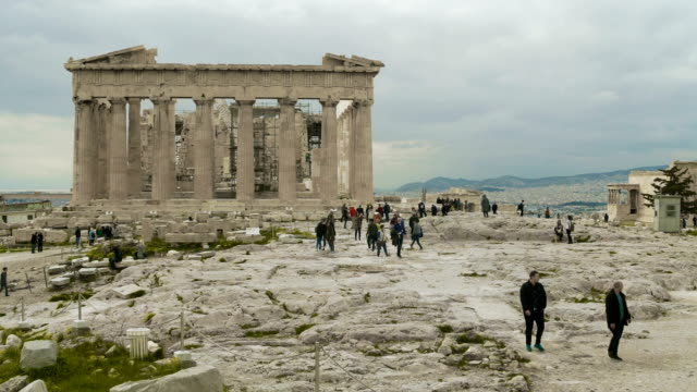 The Acropolis Alive with Tourism