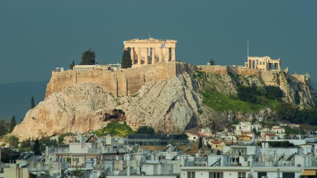 the acropolis - acropolis athens stock videos & royalty-free footage
