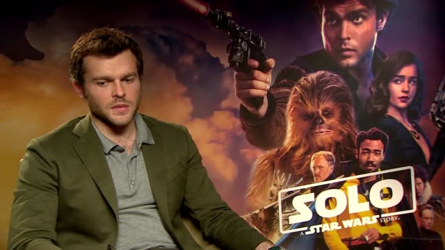 The actor who is set to play Han Solo in the new Star Wars film Alden Ehrenreich discusses the role and how he will go about becoming the new...