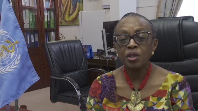the african regional director of the world health organisation who confirms the first verified case of the novel coronavirus in africa - verification stock videos & royalty-free footage
