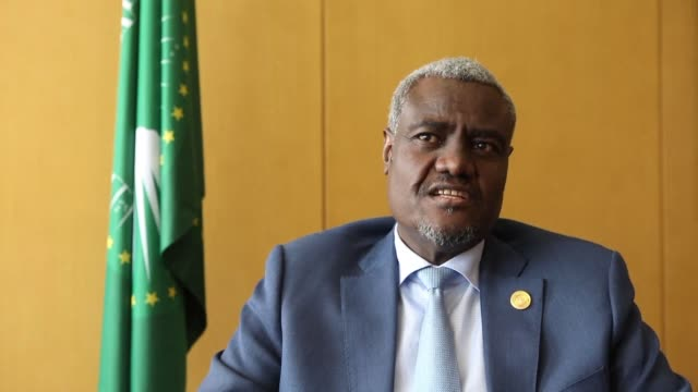 The African Union's new chair Moussa Faki Mahamat questions US commitment to fighting terrorism on the continent after it blocked efforts to get UN...