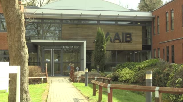 the air accidents investigation branch in aldershot, hampshire, where the final report into the plane crash that killed footballer emiliano sala will... - malibu stock videos & royalty-free footage
