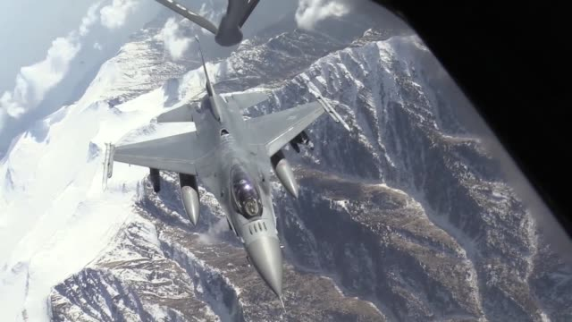the airmen of the 455th air expeditionary wing at bagram airfield afghanistan have been integral to the ongoing success of missions in support of... - バグラム空軍基地点の映像素材/bロール