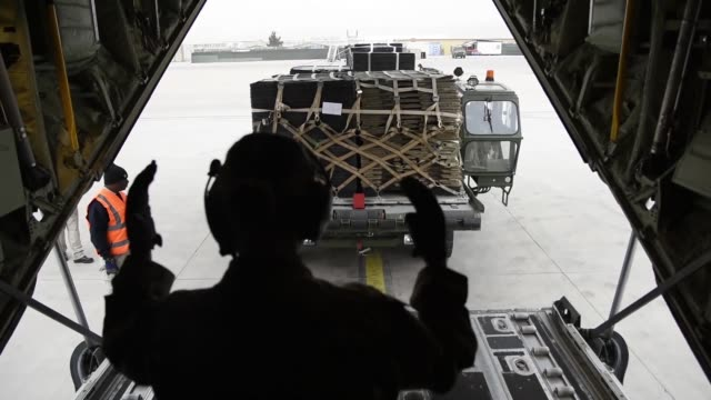 the airmen of the 455th air expeditionary wing at bagram airfield afghanistan have been integral to the ongoing success of missions in support of... - bagram air base stock videos and b-roll footage