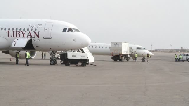 The airport serving the Libyan capital resumed flights on Saturday following a five day suspension after deadly clashes around the facility that also...